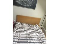 IKEA Malm double bed frame