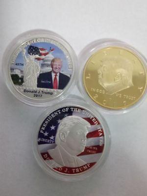 Rare Donald Trump Republican Token Gold Silver Coin Collection Lot Gift US MAGA