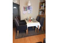 4 grey dining chair