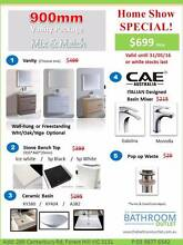Bathroom Vanity Stone Top Basin Mixer Pack Mega Sale from $699 Forest Hill Whitehorse Area Preview