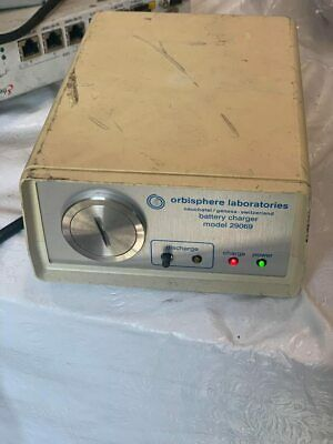 Orbisphere Laboratories Neuchatelgeneva-switzerland Battery Charger 29069