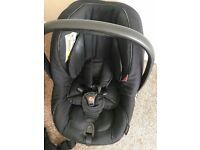 bebe car 3 in 1 pram/pushchair/car seat including harness 22 months old like new