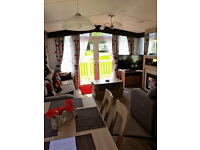 Platinum Caravan, 3 Bedrooms (6 berth), Gas Central Heating/DG, large plot, gated verandah, parking