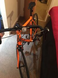 Road bike for sale used few times selling due to no place to store any longer, make me an offer