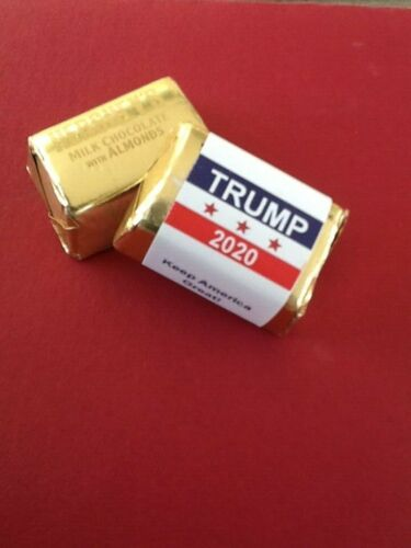60 Donald Trump Campaign Candy Bar Wrappers