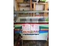 Ice cream freezer 9 pan