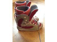 Salamom snow board boots