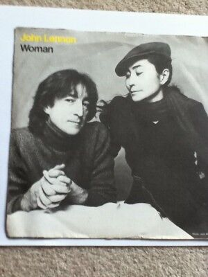 "JOHN LENNON  -  WOMAN (UK 7"" VINYL)"