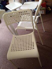White Chair x2