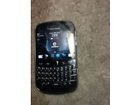 Blackberry bold 9900 touch screen with charger