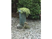 Victorian Clay Chimney Pot Garden Planter
