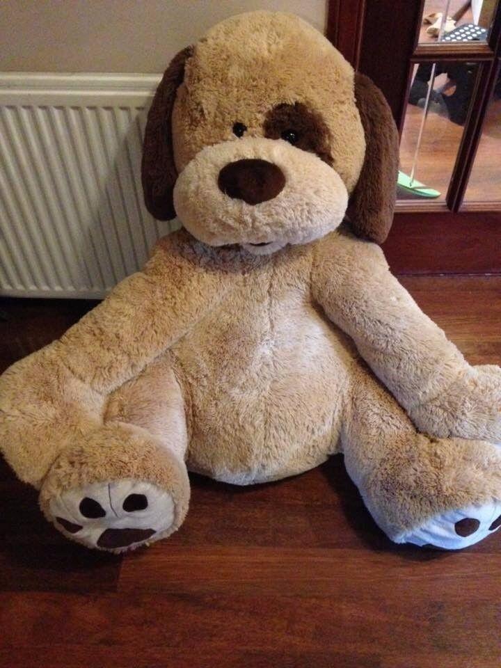 Large Soft Toy Dog: >3 feet high