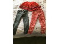 Leggings and skirt 6-7 years