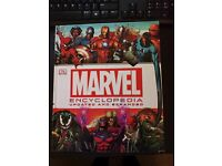 Hardback Marvel Encyclopedia! 440 pages, great quality.