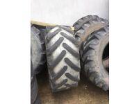 4x 17.5 - 24 Teleporter tyres