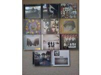 U2 cds and books