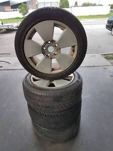 17 Inch VZ Commodore Calais Alloy Wheels And Tyres Bayswater Bayswater Area Preview