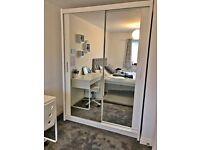 💥NOW OFFERING🎁 FULL MIRROR SLIDING WARDROBES IN DISCOUNTED PRICES HURRY UP DONT MISS😎💥