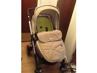 Wayfarer silver cross 3in1 travel system