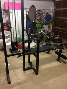 Workout Bench/ Home Gym and Weights Tennyson Brisbane South West Preview