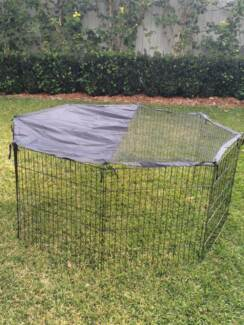 Pet Dog Puppy Rabbit Somerzby Play pen run Extension with Cover