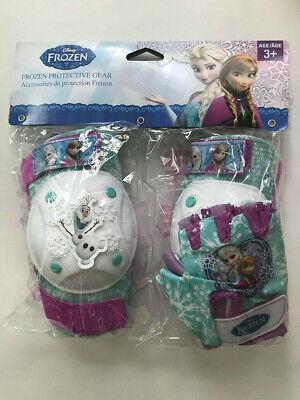 Disney Frozen Equipo Protector Rodilla Codo Guantes Almohadillas De Edad 3+ Niña