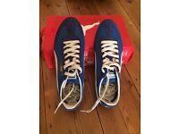 Puma Mens trainers Sf77 medieval blue Uk size 8 - Eur42 us9 cm27
