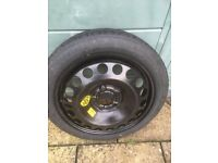 Astra space saver spare wheel