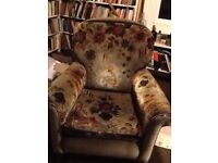 Arm chair in need of reupholstering