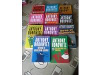 11 Anthony Horowitz Books