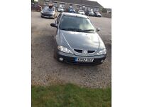 Renault Megane (automatic) 2001 model silver for sale