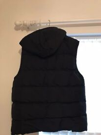 Black Sleeveless Jacket