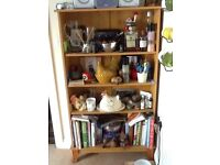 Pine Effect Book Case