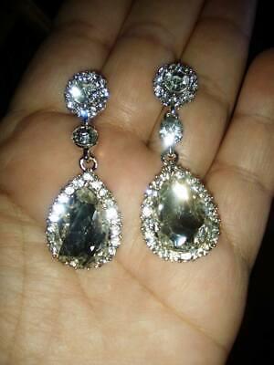 Eve Costume Ideas (Diamante  drop earrings, evening wear, costume jewellery,gift)