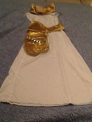 Kleopatra Königin von Ägypter von der Nil Halloween Kostüm S 4-6X