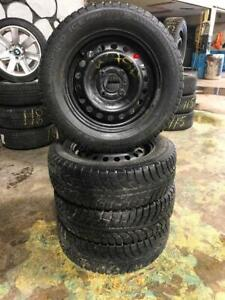 195 65R 15 CHAMPIRO ICE PRO WINTER SNOW TIRES & RIMS 4X114.3 BOLT NISSAN NV200 TOYOTA HYUNDAI ELANTRA KIA HONDA & MORE
