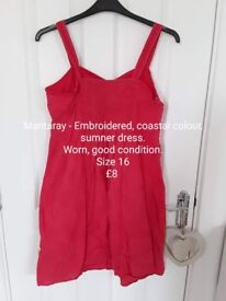 New and used clothes - All in good - excellent condition