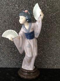 lladro Geisha girls