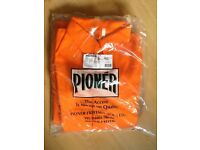 Pioneer Arcmaster boiler suits , brand new size 44 , orange
