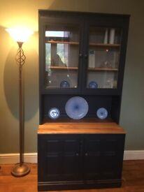 Mid Century Ercol Display Cabinet/Dresser