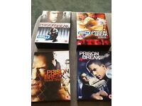 Prison Break box sets. Seasons 1-4