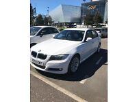 White BMW Series 3
