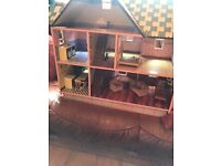 Wooden dolls House, Excellent condition!