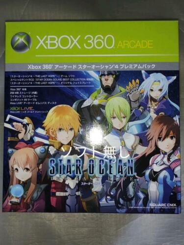 XBOX360+Arcade+Star+Ocean+4+Premium+Limited+Edition+%2ANEW%2A+Japan+