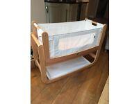 Snuzpod bedside crib with mattress
