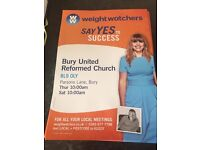 Weight Watchers meetings Bury Town Centre