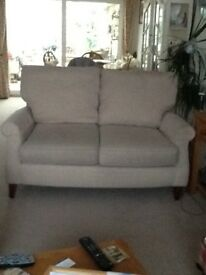 Two seater marks and spencer sofa. Excellent condition. Pet free and smoke free home