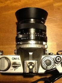 CAMERA OLYMPUS OM-1 very collectible camera, for sale at £70
