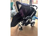 ICandy Apple 2 Double pram or buggy in Perfect condition as New for £160.00