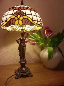 BAROQUE - stained glass lamp